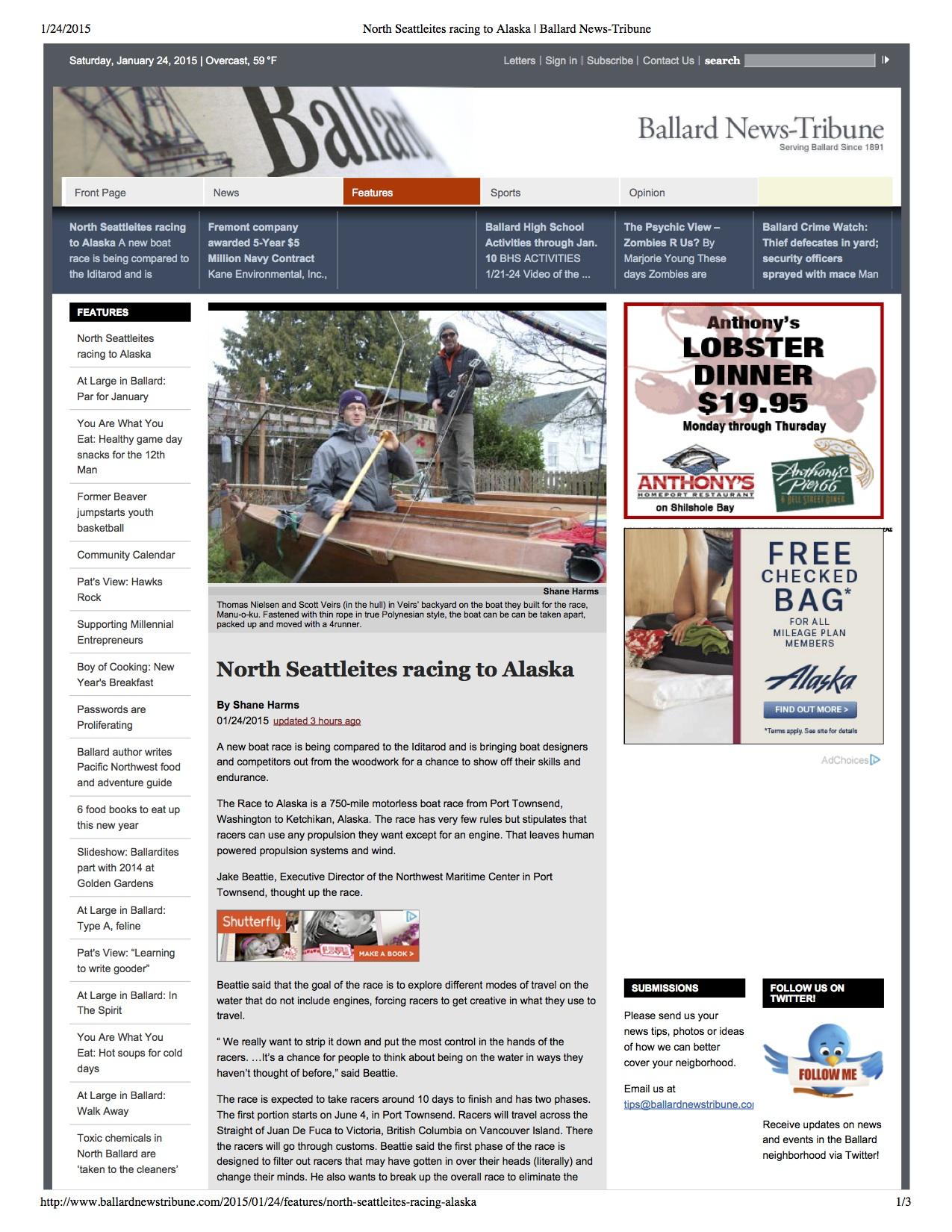 Ballard News Tribune